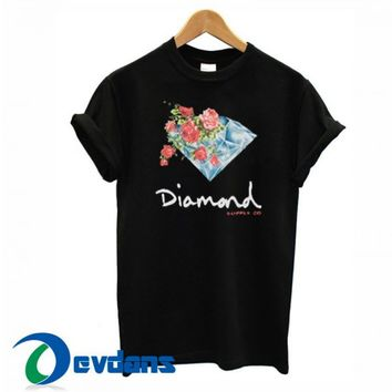 Diamond Supply Co Floral T Shirt Women And Men Size S To 3XL