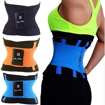 Waist Trainer Cincher Man Women Xtreme Thermo Power Hot Body Shaper Girdle Belt Underbust Control Corset Firm Slimming