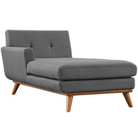 Engage Left-Arm Chaise Gray