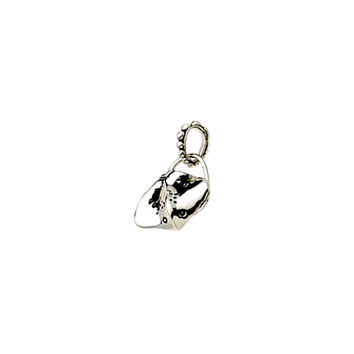 La Mer Stealth Stingray Sterling Silver Charm