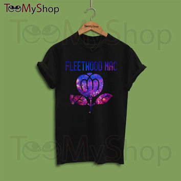 Fleetwood Mac Shirt, Fleetwood Mac Tshirt, Fleetwood Mac T Shirt, Concert Shirt, Tour Shirt, Band Shirt, TMS-FleetwoodMacGalax.