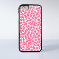 Lots of Cute Pink Elephant  Plastic Case Cover for Apple iPhone 6 6 Plus 4 4s 5 5s 5c