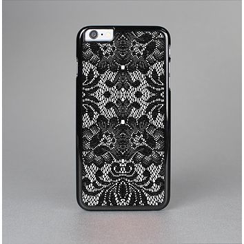 The Black and White Lace Pattern10867032_xl Skin-Sert for the Apple iPhone 6 Plus Skin-Sert Case