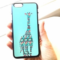 Turquoise Griaffe iPhone Case