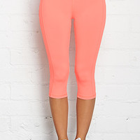 Colorblocked Workout Capris