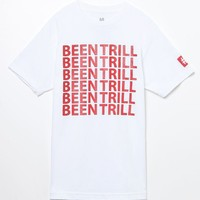 Been Trill Grounded T-Shirt - Mens Tee - White