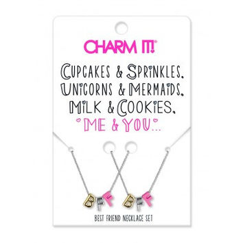 Charm It! - Best Friend Necklace Set
