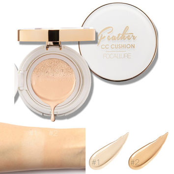 Persistent Waterproof Conceal Moisture Feather Air CC Cream Cushion Cosmetics [9595399759]