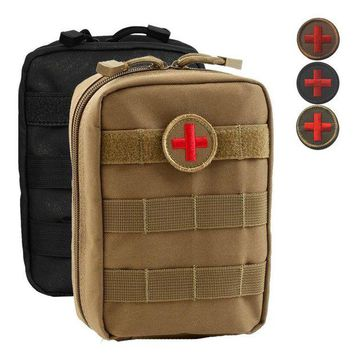 ONETOW Empty Bag for Emergency Kits Tactical Medical First Aid Kit Military Waist Pack Outdoor Camping Travel Tactical Molle Pouch Mini
