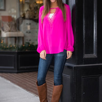 Be Loved Blouse, Pink