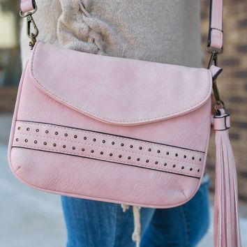 Fanfare Crossbody Bag - Blush
