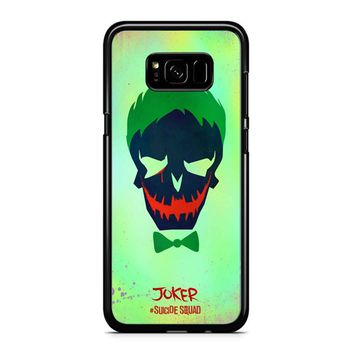 Joker Poster Suicide Squad Samsung Galaxy S8 Case