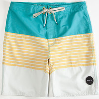 Rvca Layer Mens Boardshorts Honey  In Sizes