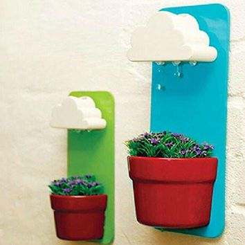 Rainy Cloud Wall Planter