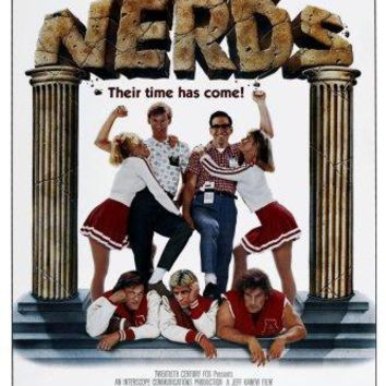 Revenge Of The Nerds movie poster Sign 8in x 12in
