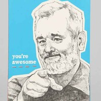 You're Awesome Bill Murray Journal- Blue One