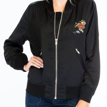 Kixters - Black Zip Front Jacket
