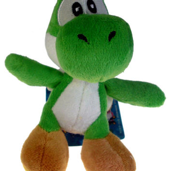 Nintendo Super Mario Brothers Green Yoshi 11cm Plush Doll Kawaii Kids Stuffed Toys For Children Dolls Kawaii Kids Toys Dolls