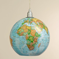 "12"" Globe Hanging Pendant Lamp - World Market"