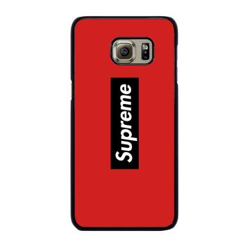 SUPREME LOGO Samsung Galaxy S6 Edge Plus Case