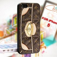 Louis Vuitton Bag - design for iPhone 5 Black case