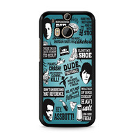 Supernatural Quote Wording Art 3 HTC One | M8 case