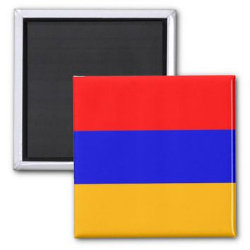 Magnet with Flag of Armenia