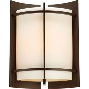 Quoizel Nolan Outdoor Extra-Large Wall Lantern in Western Bronze