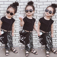 Baby boy Girls Clothing Set Summer Style Toddler Girl T shirts+Harem Pants Animals Kids Clothes Sets Fashion Children Suits-in Clothing Sets from Mother & Kids on Aliexpress.com | Alibaba Group