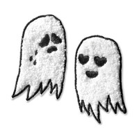 Chenille Ghosts Patch Pair