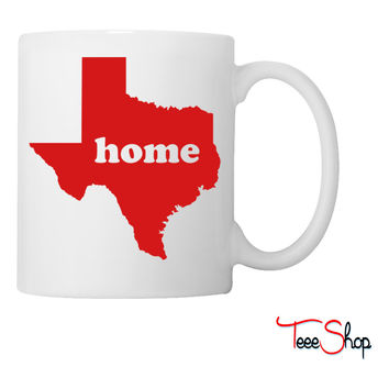 Texas Heart Coffee & Tea Mug Coffee & Tea Mug