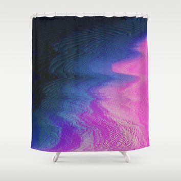 Curvy Shower Curtain by DuckyB (Brandi)