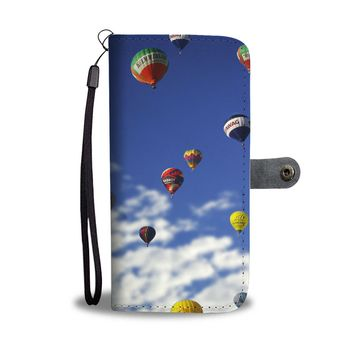 Hot Air Balloons Phone Wallet Case