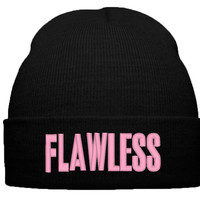 BEYONCE FLAWLESS BEANIE WINTER HAT
