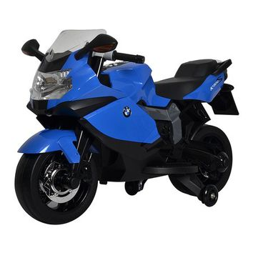 Blue BMW Motorcycle Ride-On