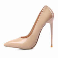 Brand Shoes Woman High Heels Pumps Red High Heels 12CM Black Nude Shoes Heels Women Shoes High Heels Wedding Shoes Pumps