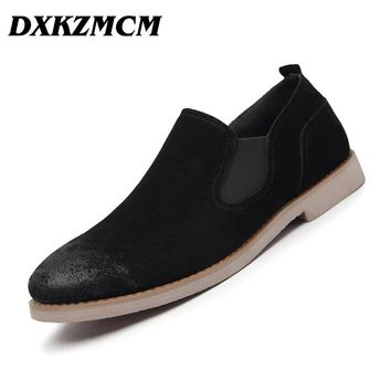 DXKZMCM Classic Men Dress Shoes, Casual Oxford Shoes For Men, Business High Quality Formal Shoes