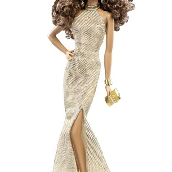 The Barbie Look™ Collection - Gold Gown | Barbie Collector