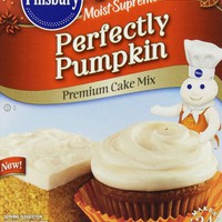 Pillsbury Moist Supreme Perfectly Pumpkin Premium Cake Mix (quantity 1)