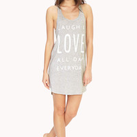 Live, Laugh, Love Sleep Tank