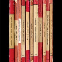 Radiohead 'Amnesiac' Album As Books Poster Print