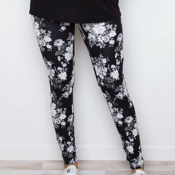 Poesy Leggings - Black