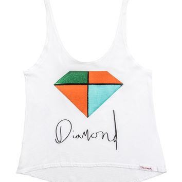 Diamond Supply Co. - Women's Painted Tank Top
