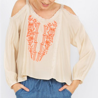 Maya Embroidered Top