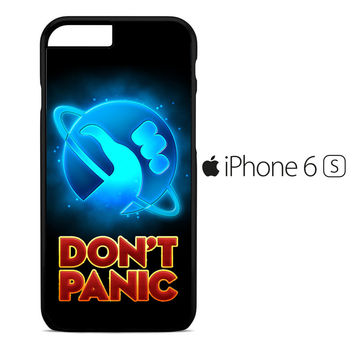 Hitchhiker's Guide To The Galaxy Dont Panic iPhone 6S Case