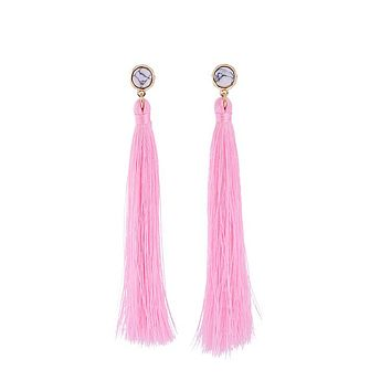 Shoulder Duster Tassel Earrings