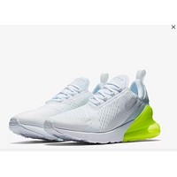 Men Nike Air Max 270 White/Green