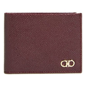 'Ten-Forty One' Leather Bifold Wallet
