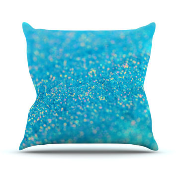 "Beth Engel ""Mermaid Sparkles"" Throw Pillow"