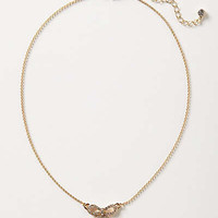 Anthropologie - Crystal Trimmings Necklace